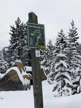 trans canada trail sign